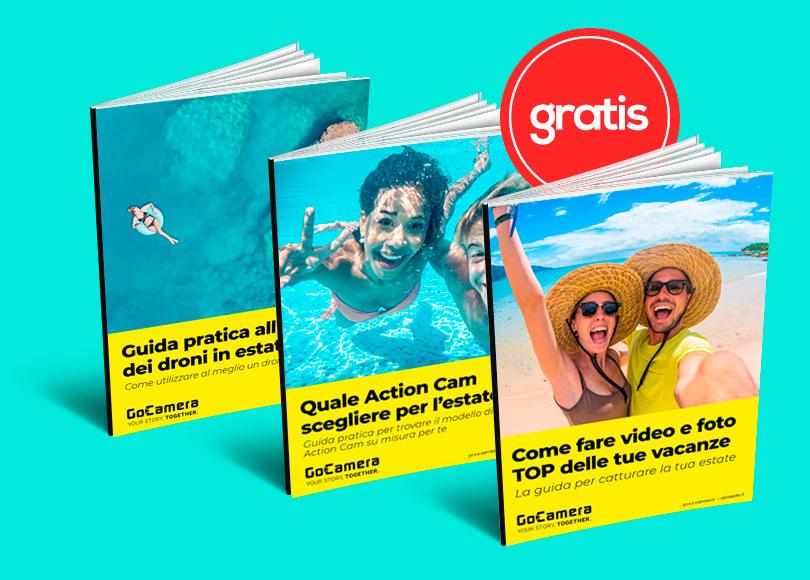 Le migliori guide gratuite per GoPro e DJI