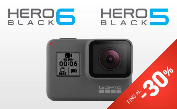 Accessori esclusivi GoPro HERO6 e HERO5 Black
