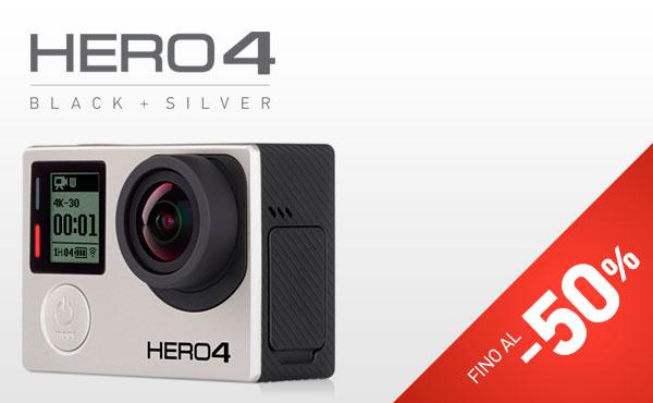 Accessori esclusivi GoPro HERO4