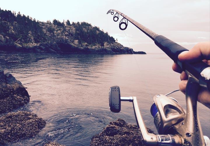 action cam pesca