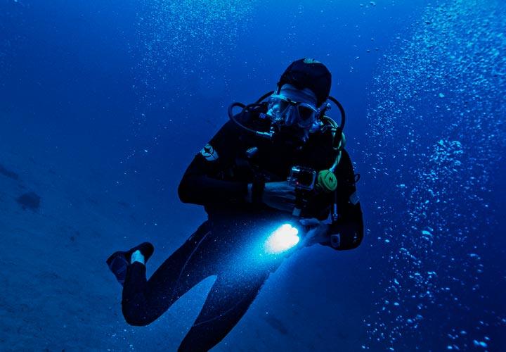 action cam subacquea
