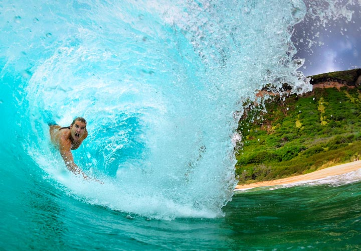 action cam surf