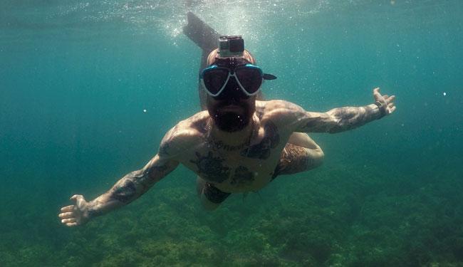 gopro maschere per snorkeling