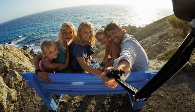 gopro selfie mount