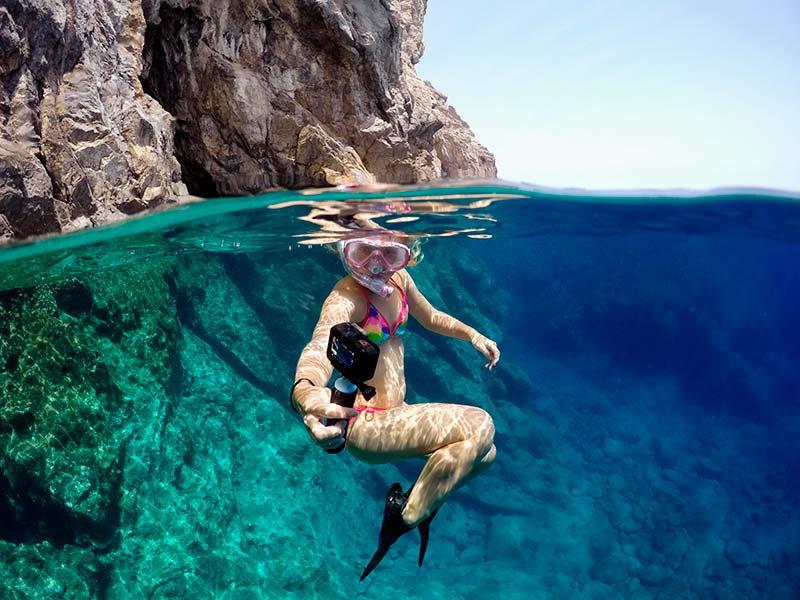 catalogo accessori gopro snorkeling