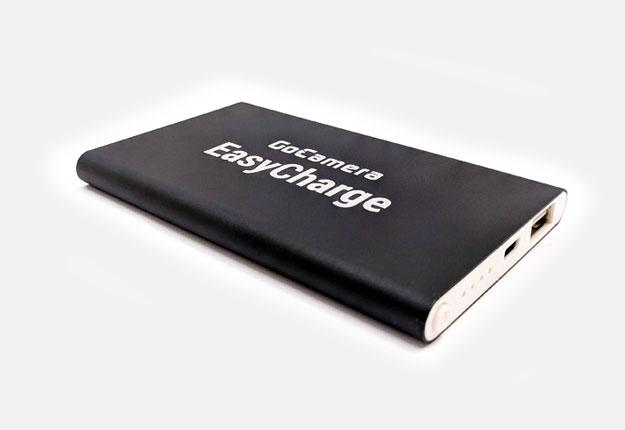 GoCamera EasyCharge powerbank per GoPro e smartphone