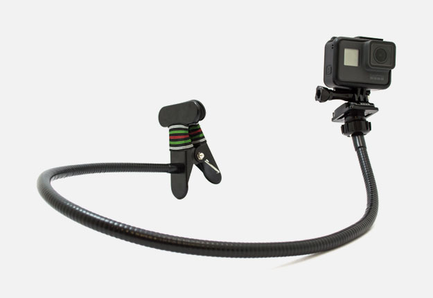 GoCamera SwanClamp Supporto flessibile a morsa per GoPro