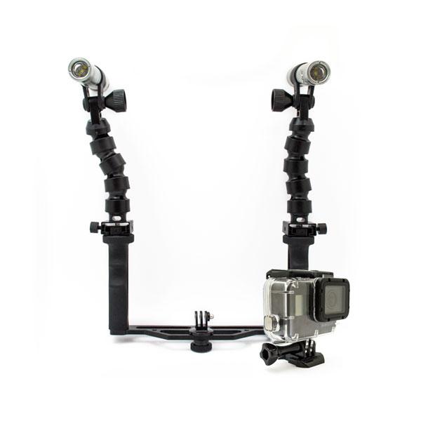 Starter Kit Completo Subacquea GoPro HERO5 Black con Luci