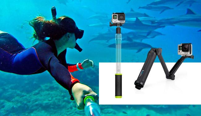 supporti gopro subacquea
