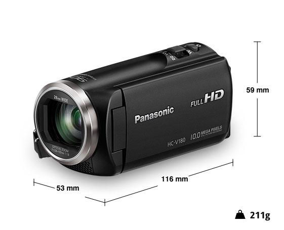 Panasonic videocamera HD HC-V180