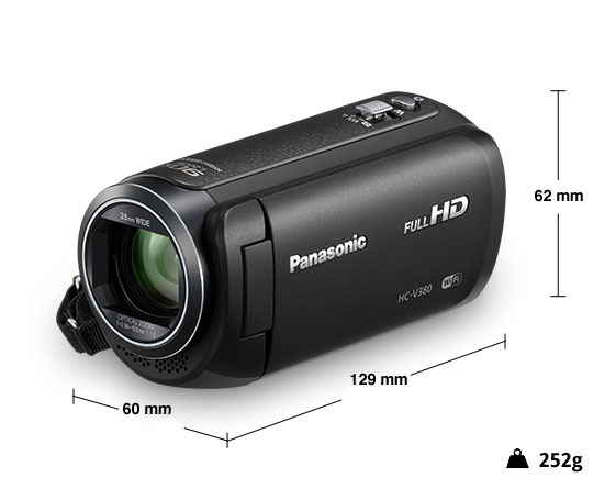 Panasonic videocamera HD HC-V380