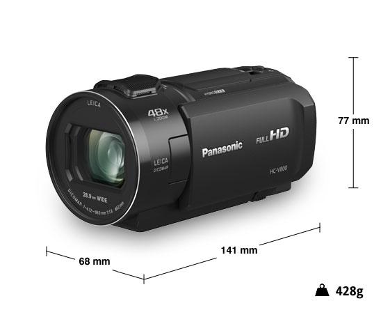 Panasonic videocamera HD HC-V800