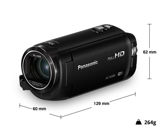 Panasonic videocamera HD HC-W580