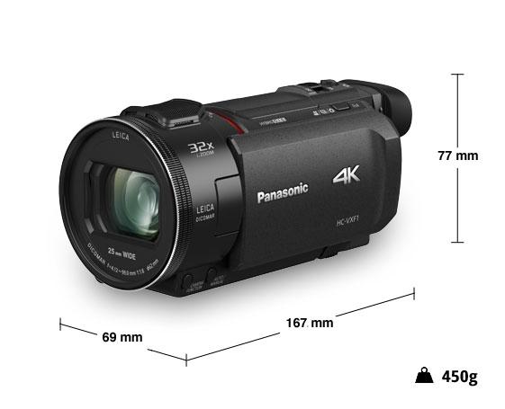 Panasonic videocamera 4K HC-VXF1