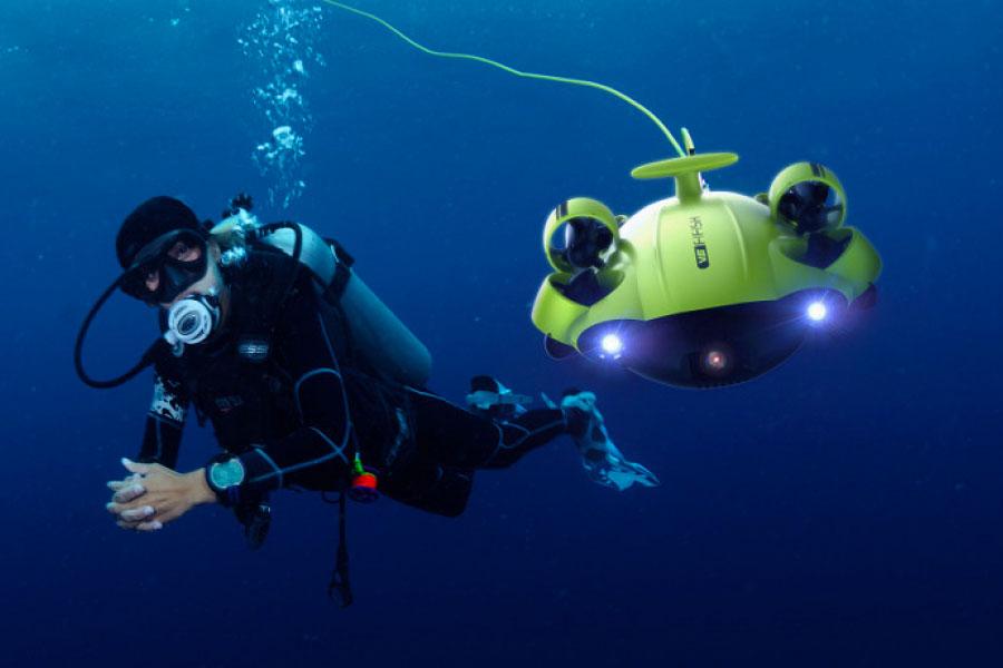 ROV subacqueo QYSEA FIFISH V6